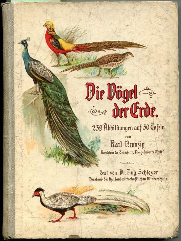 Die Vögel der Erde: Schleyer, August (Text)