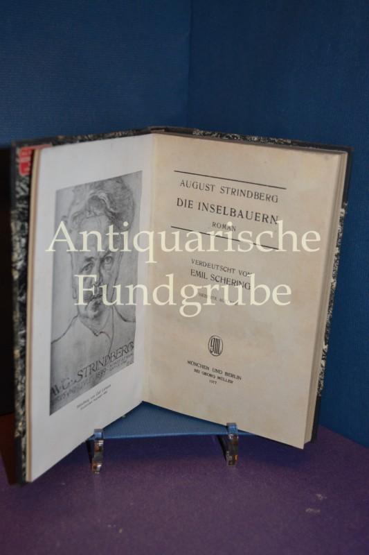 Die Inselbauern - Roman: August Strindberg -