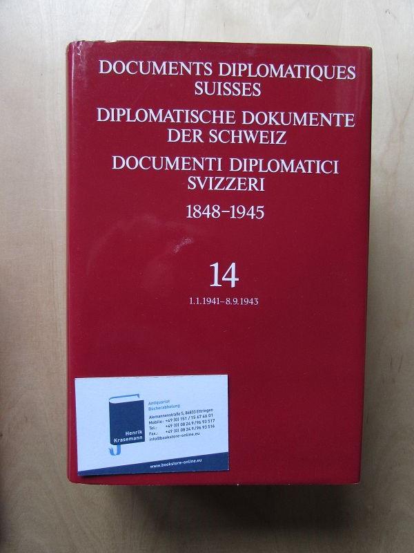 Diplomatische Dokumente der Schweiz 1848-1945 - Band: Fleury, Antoine, Mauro