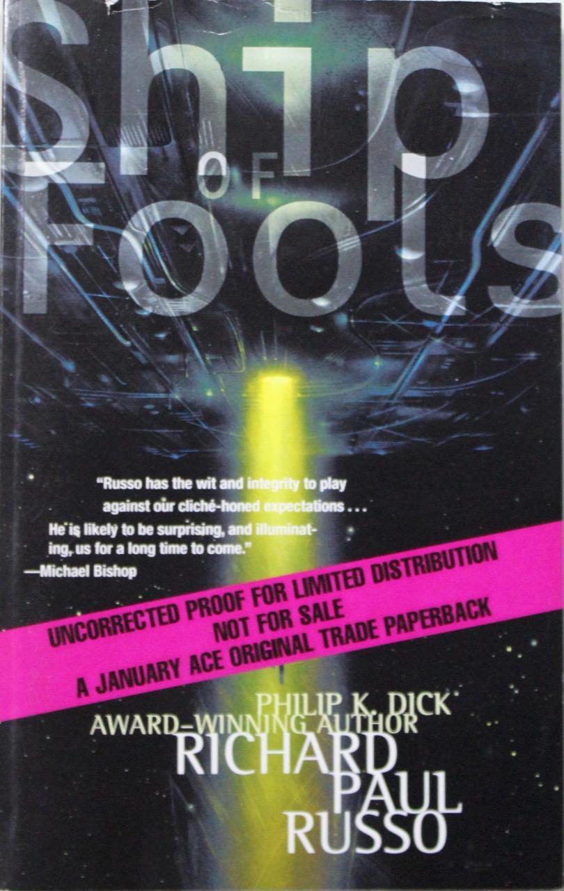 Richard Paul Russo Ship Of Fools Used Abebooks
