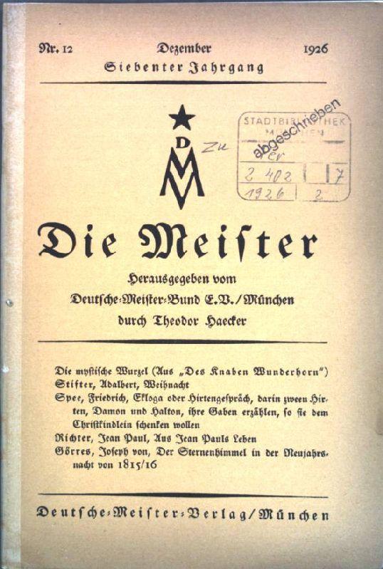 Der Sternenhimmel in der Neujahrsnacht von 1815/16;: Görres, Joseph von: