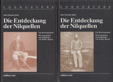 Die Entdeckung der Nilquellen. Ein Reisetagebuch.: Speke, John Hanning.