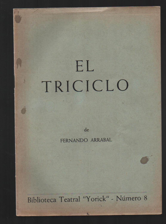 El Triciclo By Arrabal Fernando 1953 Auca Llibres Antics Robert Pérez