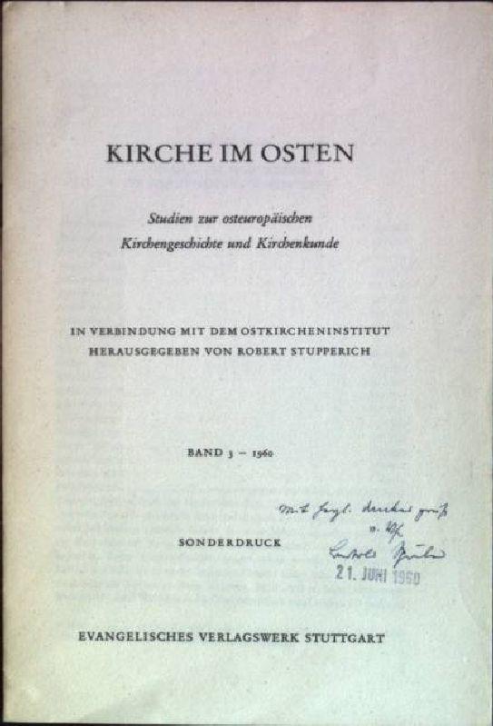 Volkstum und Kirche in der orientalischen Welt: Spuler, Bertold: