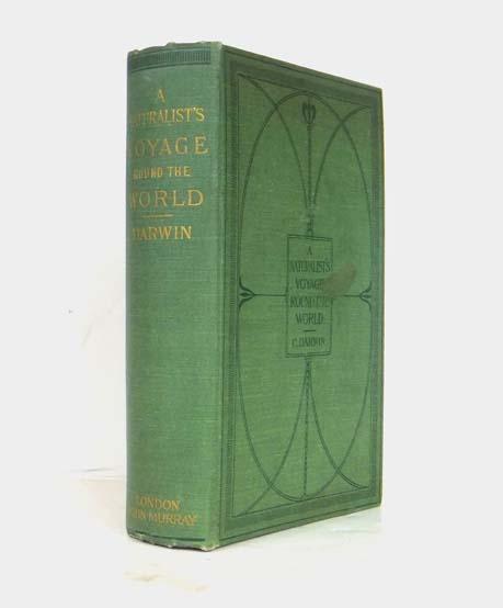 A Naturalist's Voyage Round The World: DARWIN, Charles (1809-1882)