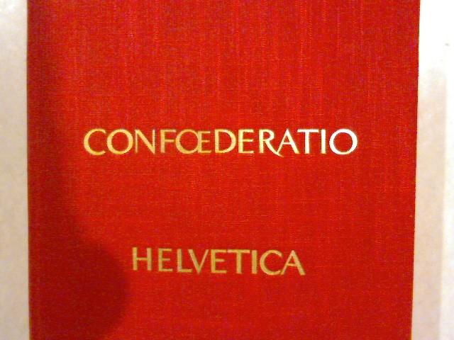Confoederatio Helvetica, Band 2. Die vielgestaltige Schweiz.: Müller, Hans Richard: