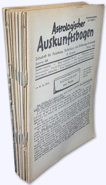 Astrologischer Auskunftsbogen. 15. Jhg. 1965, Nr. 164,: Baumgartner, Hermi (Hrsg.):