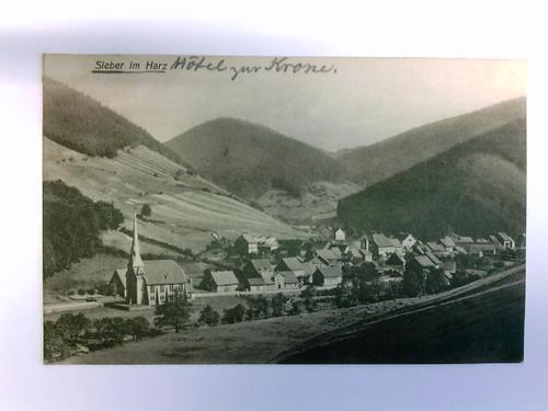 1 Postkarte: Sieber im Harz: Sieber (Herzberg am