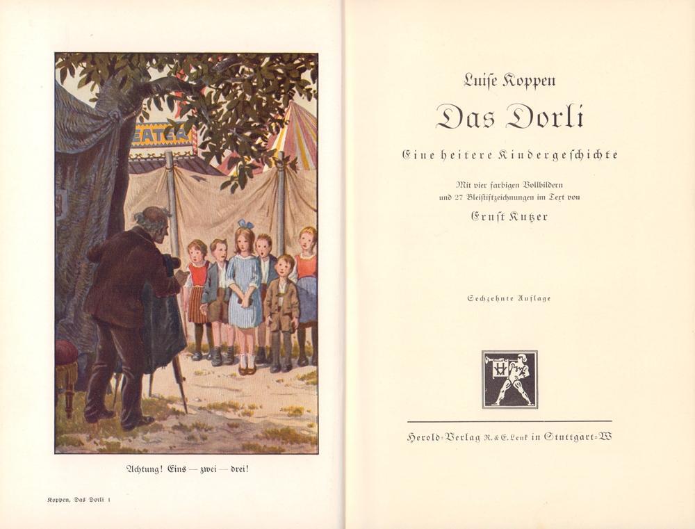 Das Dorli. Eine heitere Kindergeschichte. Mit vier: Koppen, Luise.