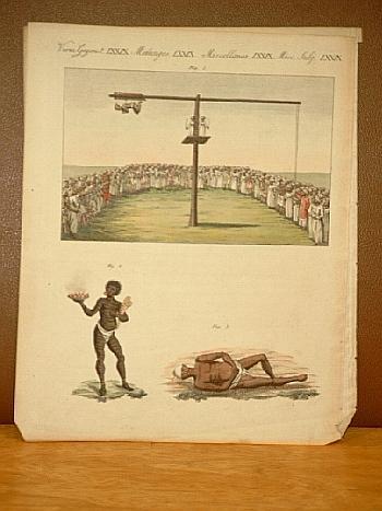 Indische Büssende. 1.Der Büßende an der Wippe.: Bertuch, Friedrich J.