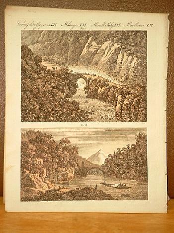 Merkwürdige Brücken ( Teufelsbrücke auf dem St.: Bertuch, Friedrich J.