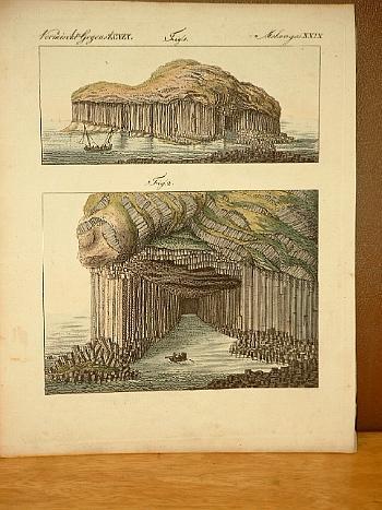 Die Fingals-Höhle auf der Insel Staffa (: Bertuch, Friedrich J.