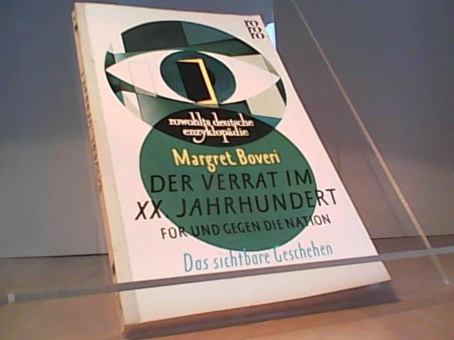 Der Verrat im XX. Jahrhundert - Verrat 1 - Boveri Margret