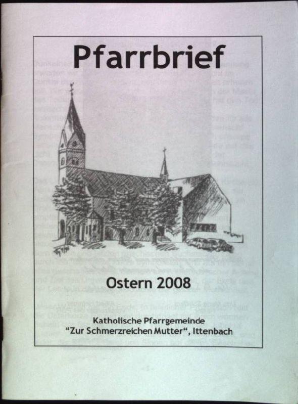 """Pfarrbrief der Katholischen Pfarrgemeinde """"Zur schmerzreichen Mutter"""",: Wagener, Isabel, Peter"""