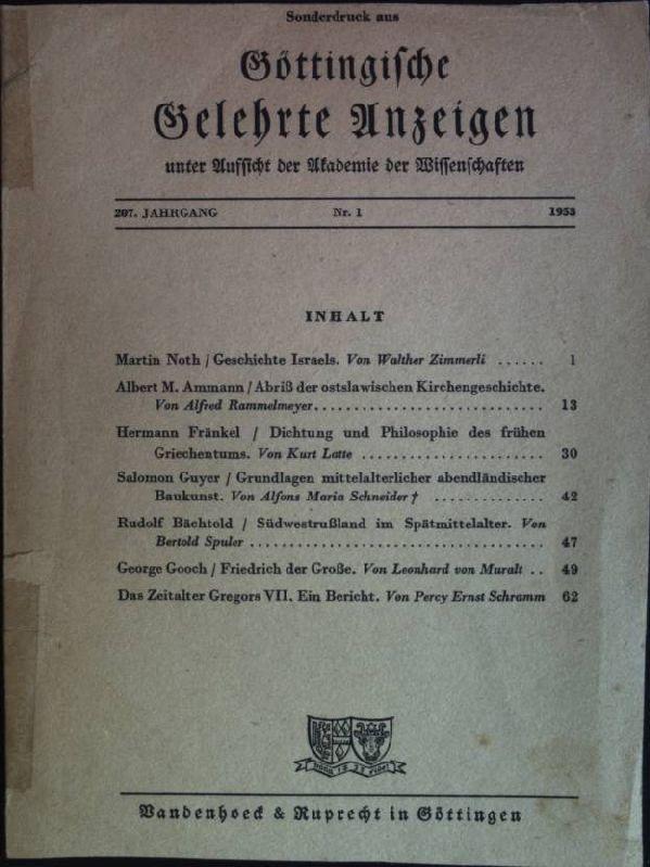 Rudolf Bächtold: Südwestrußland im Spätmittelalter aus: Göttingsche: Spuler, Bertold: