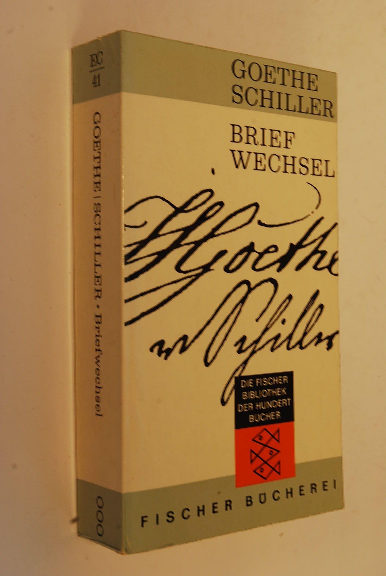 Briefwechsel: Goethe, Johann Wolfgang