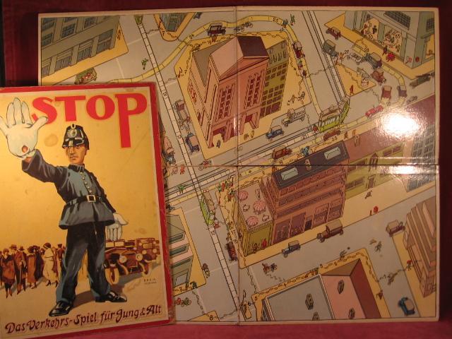 """Stop! """" Das Verkehrs-Spiel für Jung &"""