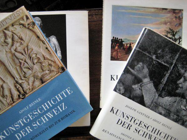 Die Kunstgeschichte der Schweiz. Von den Anfängen: Gantner, Joseph u.