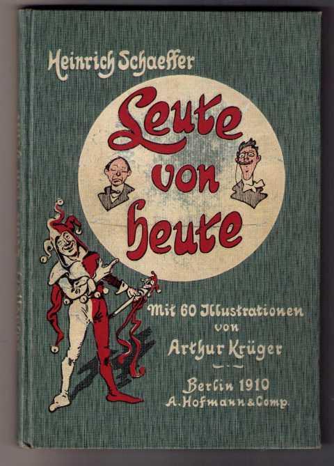 Leute von heute: Schaeffer , Heinrich