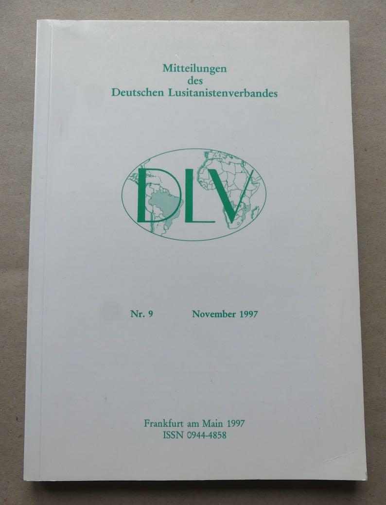 Mitteilungen des Deutschen Lusitanistenverbandes (DLV). Nr. 9,: Schönberger, Axel.