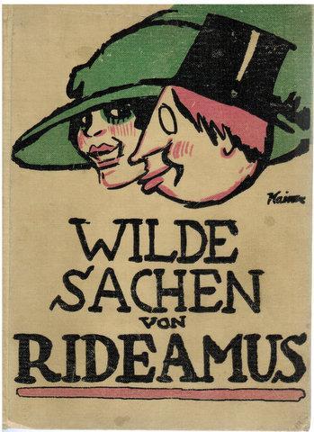 Wilde Sachen von Rideamus.: Rideamus: