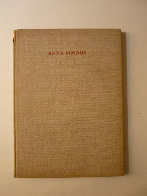 Anna Simons (Schriften der Corona VIII): Ehmcke, Fritz Helmut