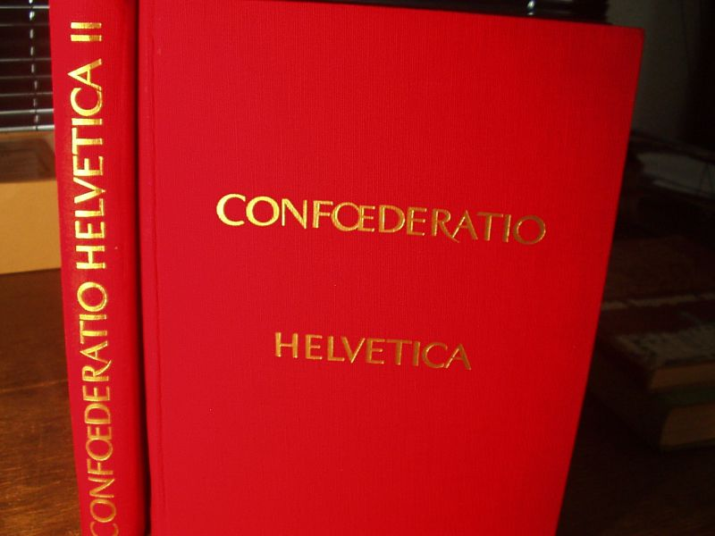Hrsg.) Confoederatio Helvetica. Vielgestaltige Schweiz.: MÜLLER, Hans Richard: