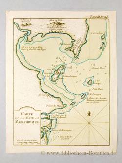 Carte de la Baye de Mosambique.: Bellin, Jacques Nicolas: