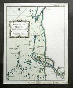 Archipel de Mergui dans le Golphe de: Bellin, Jacques Nicolas: