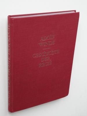 Geschichte der Regie. Mit 6 Skizzen im: Winds, Adolf