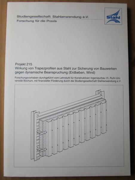 Wirkung von Trapezprofilen aus Stahl zur Sicherung: Reyer, E. und