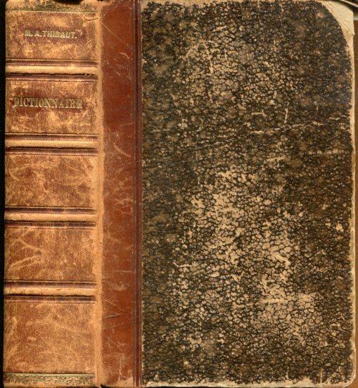 Wörterbuch der französischen und deutschen Sprache. -: Thibaut, M. A.