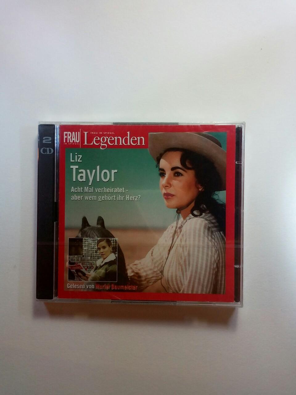 Liz Taylor. 2 CDs . Frau im Spiegel - Legenden - Muriel Baumeister