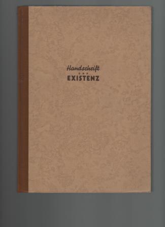 Handschrift und Existenz.: Daim, Wilfried