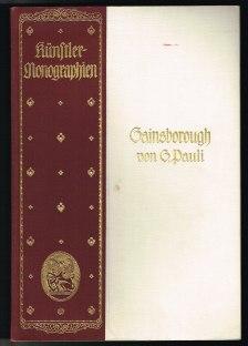 Gainsborough (Künstler-Monographien, Band 71). -: Pauli, Gustav: