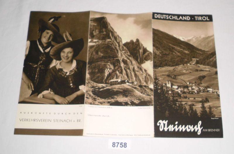 Reiseprospekt: Deutschland Tirol - Steinach am Brenner: Verkehrsverein Steinach