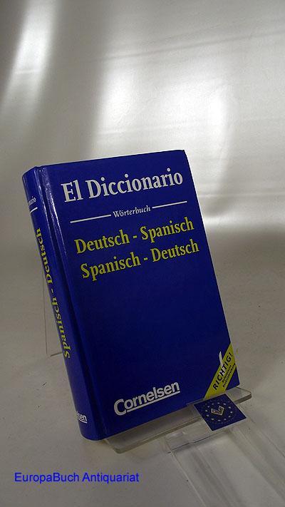 El diccionario : Deutsch-Spanisch, Spanisch-Deutsch. Reformierte Rechtschreibung.: Haensch, Günther:
