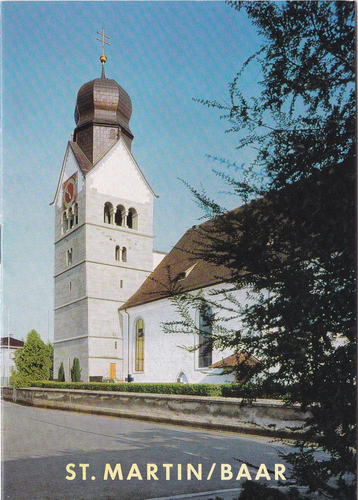 Pfarrkirche St Martin in Baar: Reinle, Adolf