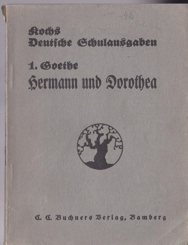 Hermann und Dorothea: Goethe, Wolfgang von