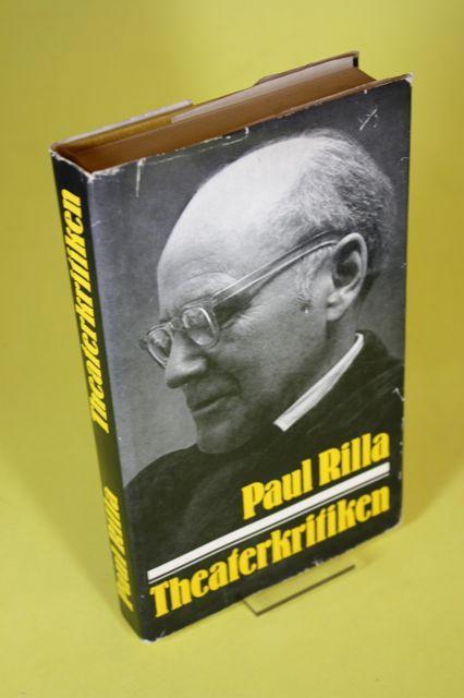 Theaterkritiken: Rilla, Paul /