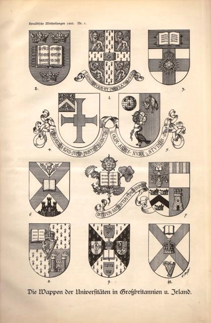 Heraldische Mittheilungen (Mitteilungen). Monatsschrift für Wappenkunde und: Ahrens, H., (Herausgeber),