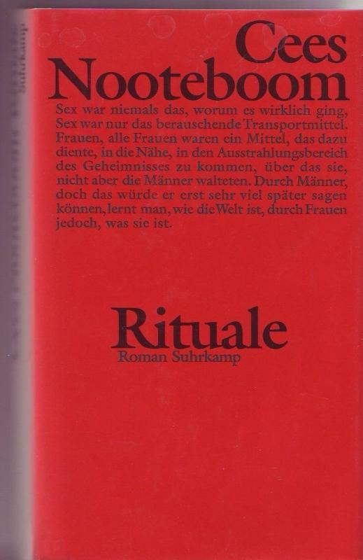 Rituale: Nooteboom, Cees