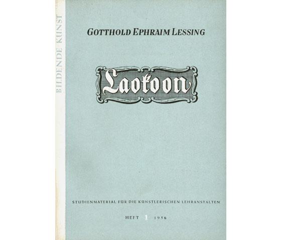"""Konvolut  Gotthold Ephraim Lessing"""". 5 Titel. 1.): Lessing, Gotthold Ephraim"""