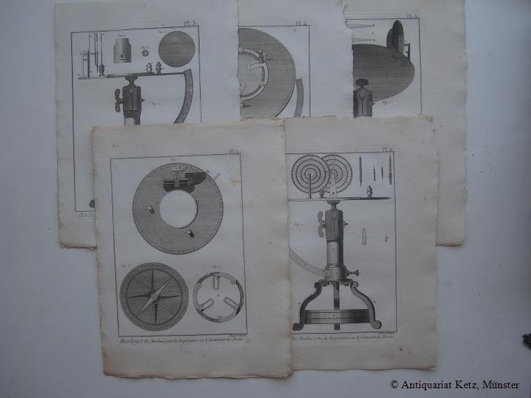 """Uhren - """"Horlogerie - Machine pour les: Uhrmacher:"""