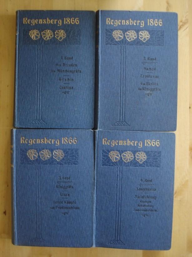 1866 - Band 1 bis 4: Regensberg, Fr. (Friedrich)