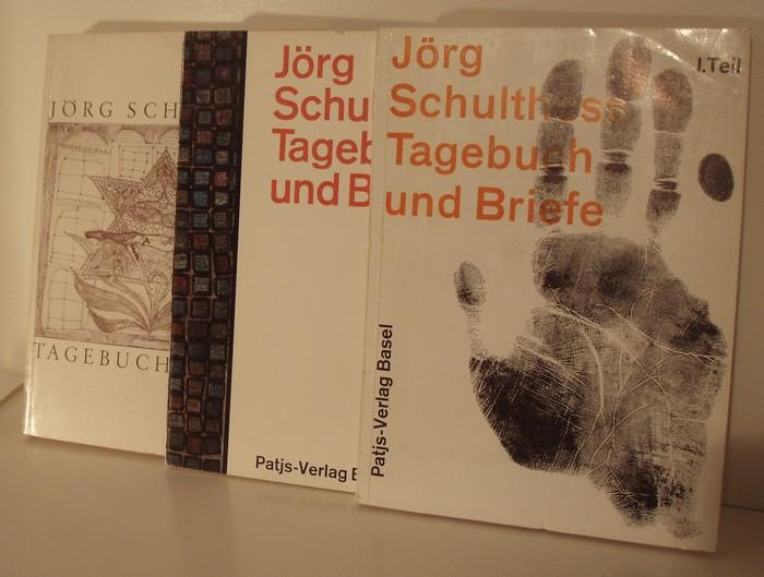 Tagebuch und Briefe.: Schulthess, Jörg: