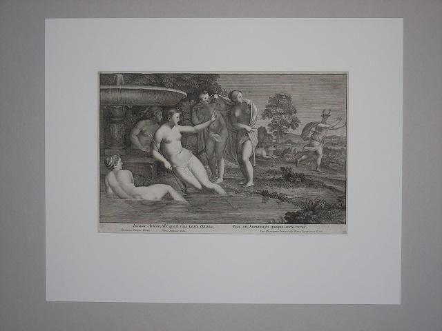 Incaute Acteon, tibi quod . Diana, Visa: Frezza, Giovanni Girolamo:
