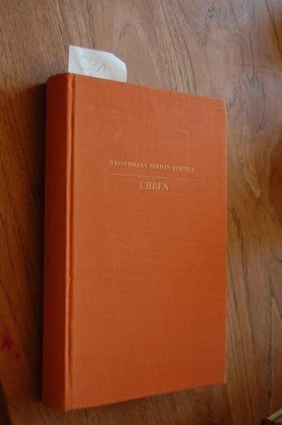 Uhren. Ein Handbuch für Sammler und Liebhaber,: Bassermann-Jordan, Ernst von: