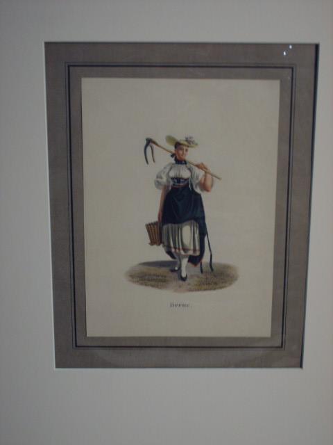 "Berne(""). Sennerin in Berner Tracht.: Lory, Gabriel II"