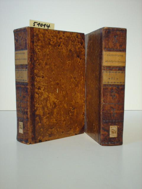 Dictionnaire des Antiquites Romaines, ou Explication abregee: Pitiscus, Samuel: